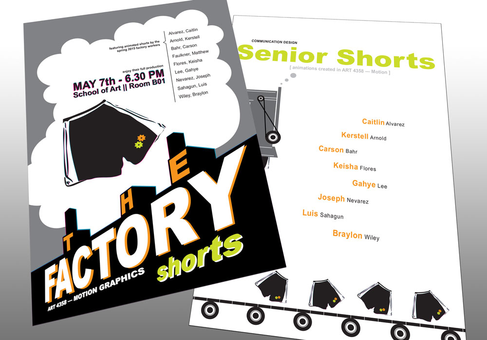 The Factory Short Poster